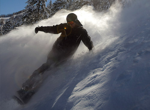 klug snowboard tips powder